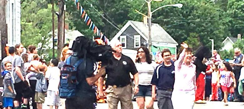 Eastport welcomes Sens. Collins and King for Fourth of July cerebrations