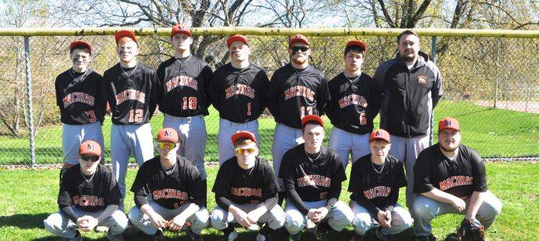 Machias Bulldog baseball team.